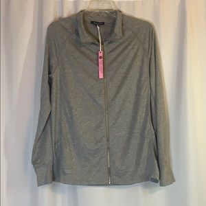 Women's Simply Southern Heather Gray Sport Jacket!